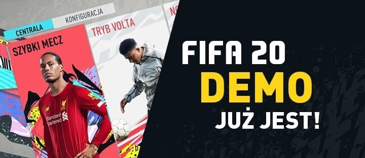 FIFA 20 demo już dostępne do pobrania!