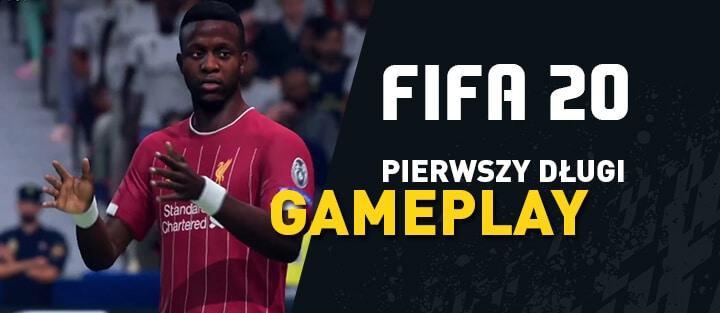 FIFA 20 – pierwszy długi gameplay! Liverpool vs. Real Madryt