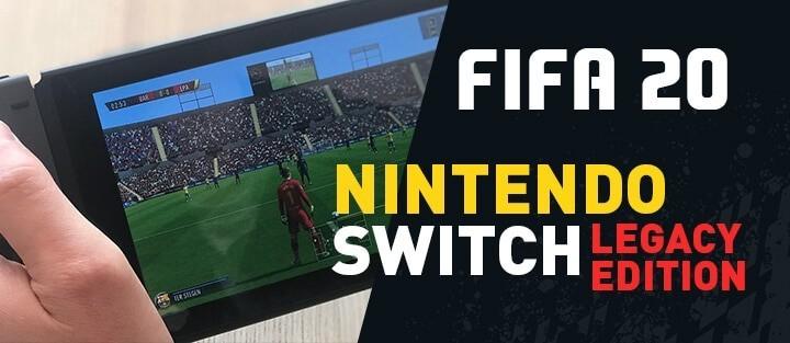 FIFA 20 – Nintendo Switch obejdzie się smakiem