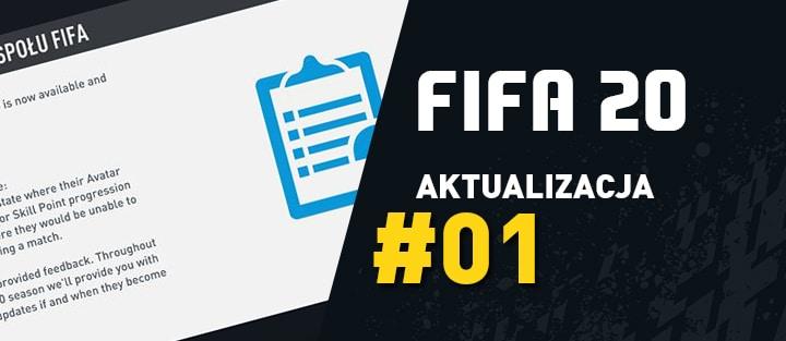 FIFA 20 – Aktualizacja 1 (Title Update) – 21.09.2019