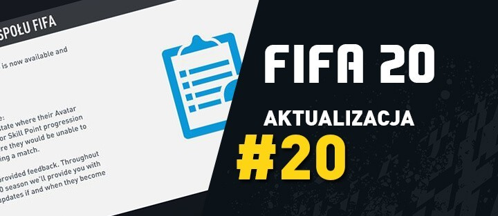 FIFA 20 – Aktualizacja 20 (Title Update) – 28.07.2020